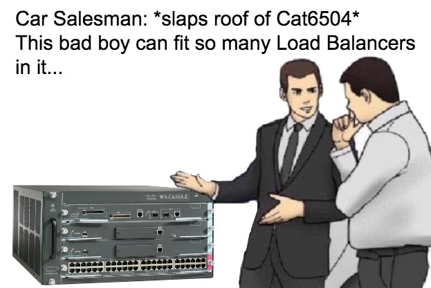 Car Salesman and the Cisco Cat 6k